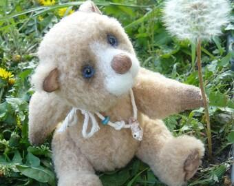 """OOAK Teddy, artist Teddy bear, artist Teddy bear """"Timon"""", bear 21 cm, vintage"""