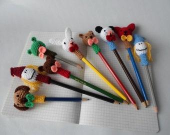Animal Pen & Pencil Topper