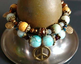 Bracelet of peace pearls