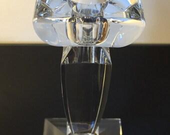 Bohemia Czech Republic 24% Lead Crystal Candle Holder **Sale**