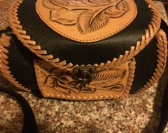 Hand Crafted Mexican Leather Purse