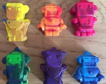 Mini Robot Crayons