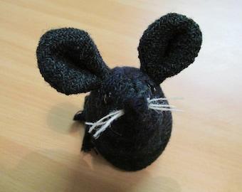 Handmade 100% Tweed mouse - Name: 'James'