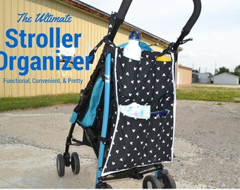 The Traveling Stroller Organizer that Saved our Marriage - Headache free travel/ stroller caddy / stroller / stroller organizer