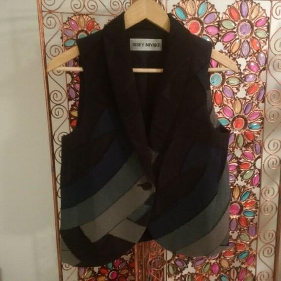 VINTAGE Issey Miyake Patchwork Vest