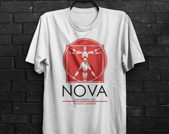 Nova Laboratories Robotics Short Inspired Circuit Johnny 5 Sentient Robot Adults Mens & Women's T-shirt Top Tee Shirt All Sizes And Colours