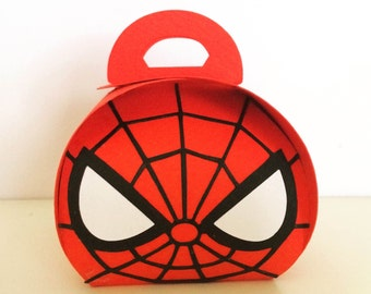 Spiderman Marvel Party Favor Boxes (Small size)