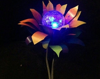 Simply Stunning Sunflower Solar Lights