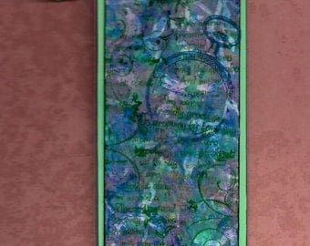 Mixed Media Laminated Bookmark