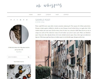 WordPress Theme, WordPress Template, Theme WordPress, WordPress Themes, Modern Theme, Genesis Child Theme, Responsive Theme Minimalist Theme