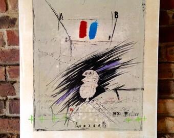 James Coignard Exhibition Poster 1970s - Original Signed