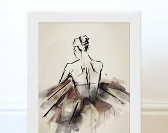 The Ballerina Print