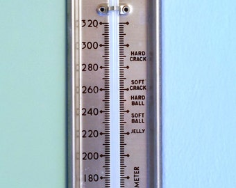 TAYLOR Candy-Jelly-Frosting Thermometer, Stainless Steel, USA