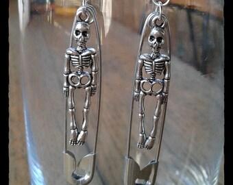 Skelepins Earrings