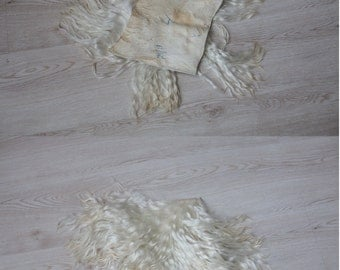 The skin of angora for wigs