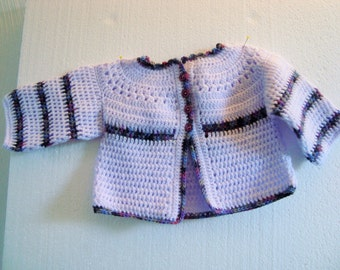 Baby jacket + Hat lilac jacket Cardigan beanie baby toddler girl