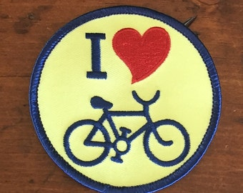 I heart Bike Patch
