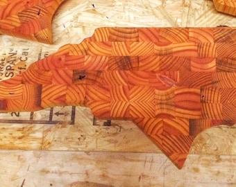 North carolina endgrain cutting board