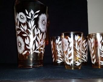 marigold juice pitcher set