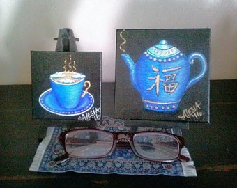 Royal blue Tea