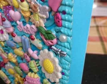 Turquoise Girly Notebook