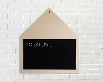 House chalkboard, blackboard, home decor, chalkboard sign, scandinavian design, wall decor, framed chalkboard, kitchen chalkboard