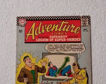 Adventure Comics #348 (1966)