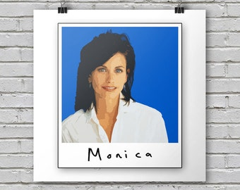 Monica - Friends Print