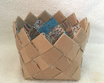 Small coffee table basket