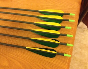 Custom Costume Arrows - Any color fletchings, shafts, and nocks