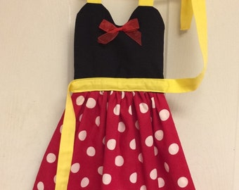 Minnie Mouse Dress up Apron