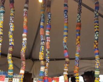 Ghana Trade Bead Necklace
