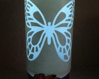 Butterfly Jar lantern