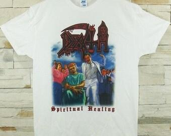 Death Spiritual Healing white shirt