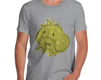 Men's Ink Splat Frog Prince T-Shirt