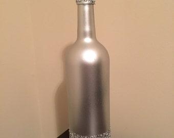 Silver Wine bottle