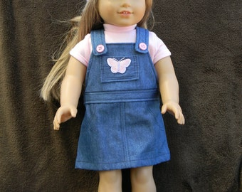 American Girl Doll Jumper with or without Shirt