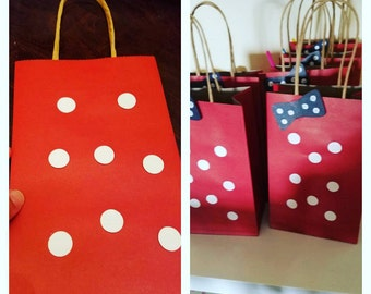 Minnie Mouse Vintage looking party bags