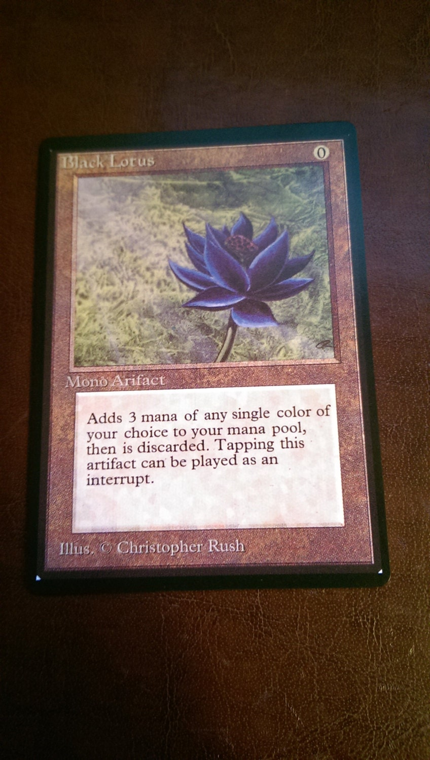magic the gathering black lotus proxy. Black Bedroom Furniture Sets. Home Design Ideas