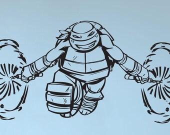 Ninja Turtle Wall Decal