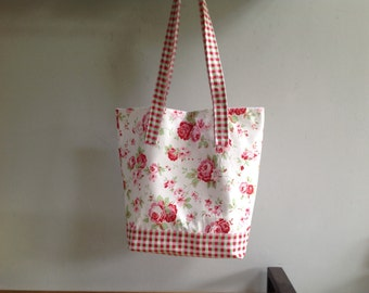 Cath Kidston fabric Tote/shopper vintage floral look