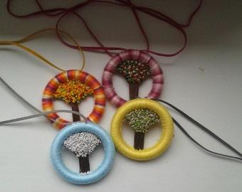 dorset buttons four seasons (summer,winter,spring, autumn)