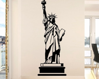 Statue of Liberty New York Landmark Wall Art Room Sticker