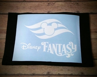 Vinyl Cruise Decal (Disney Fantasy)