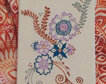 Henna inspired canvas