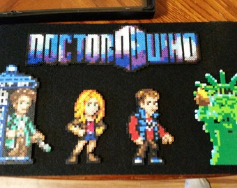 Angels Take Manhatten DW Framed Perler Bead Picture