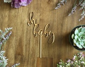 Oh Baby Cake Topper Baby Shower