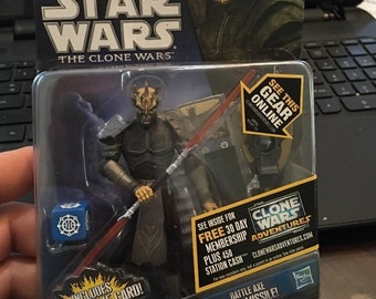 Savage Opress Star Wars The Clone Wars Action Figure