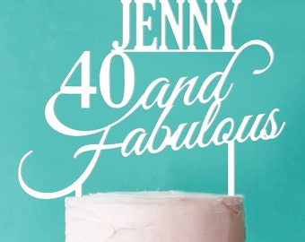 Personalized Fabulous Birthday (FJM-40FABKT56-LXJM)