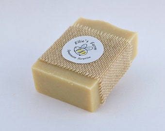 Handmade Natural Soap: Spearmint Surprise